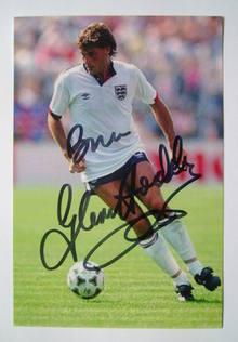 Glenn Hoddle autograph