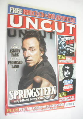 <!--2009-06-->Uncut magazine - Bruce Springsteen cover (June 2009)