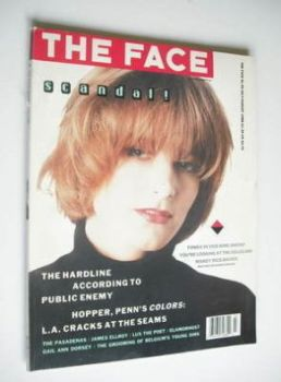The Face magazine - Bridget Fonda cover (July/August 1988 - Issue 99)