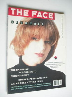 <!--1988-07-->The Face magazine - Bridget Fonda cover (July/August 1988 - I
