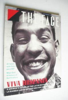 The Face magazine - Viva Hispania cover (September 1987 - Issue 89)
