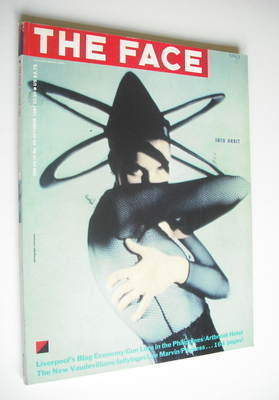 <!--1987-10-->The Face magazine - Into Orbit cover (October 1987 - Issue 90