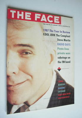 <!--1988-01-->The Face magazine - Steve Martin cover (January 1988 - Issue
