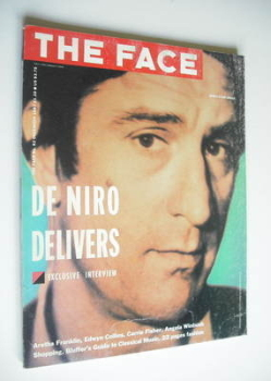 The Face magazine - Robert De Niro cover (December 1987 - Issue 92)