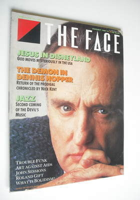 <!--1987-08-->The Face magazine - Dennis Hopper cover (August 1987 - Issue