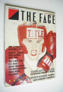 The Face magazine - Everlasting Glove cover (June 1987 - Issue 86)