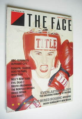 <!--1987-06-->The Face magazine - Everlasting Glove cover (June 1987 - Issu