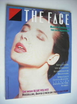 The Face magazine - Isabella Rossellini cover (February 1987 - Issue 82)