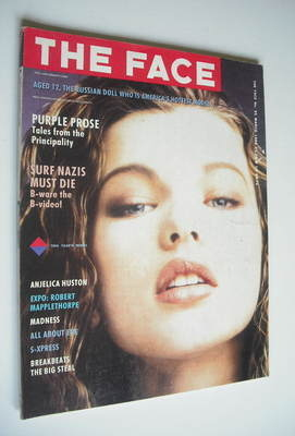 <!--1988-03-->The Face magazine - Milla Jovovich cover (March 1988 - Issue