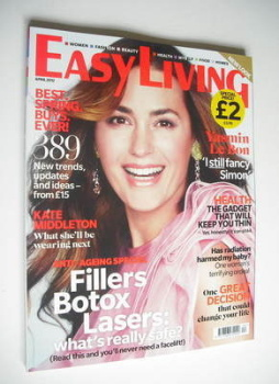 Easy Living magazine - April 2012 - Yasmin Le Bon cover