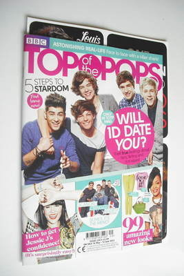 <!--2012-05-16-->Top Of The Pops magazine - One Direction cover (16 May - 1