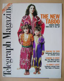 <!--1996-10-12-->Telegraph magazine - The New Taboo cover (12 October 1996)