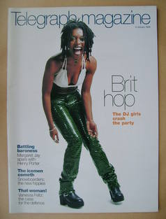 Telegraph magazine - Denise Campbell cover (9 January 1999)