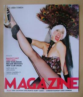 <!--2005-02-05-->The Times magazine - Francesca Baglione cover (5 February