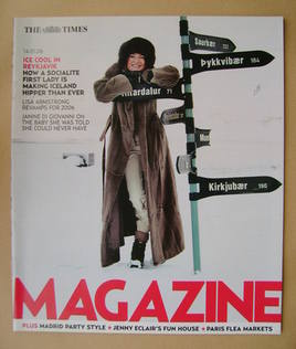 <!--2006-01-14-->The Times magazine - Dorrit Moussaieff cover (14 January 2