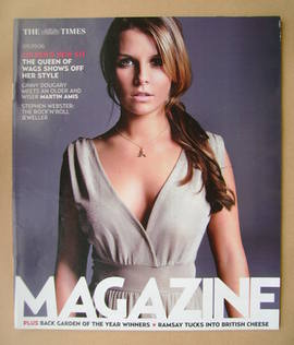 <!--2006-09-09-->The Times magazine - Coleen McLoughlin cover (9 September