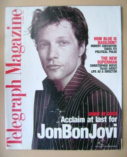 <!--1997-04-19-->Telegraph magazine - Jon Bon Jovi cover (19 April 1997)