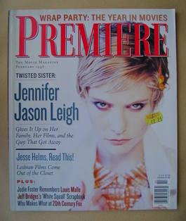 Premiere magazine - Jennifer Jason Leigh cover (February 1996)