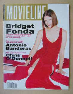 Movieline magazine - November 1993 - Bridget Fonda cover