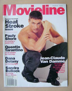 Movieline magazine - August 1994 - Jean-Claude Van Damme cover