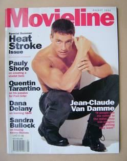 Movieline magazine - August 1994 - Jean-Claude Van Damme cover