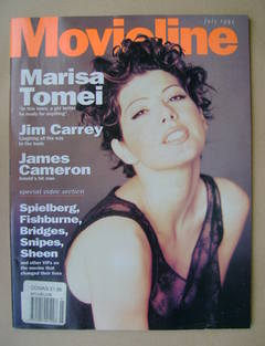 Movieline magazine - July 1994 - Marisa Tomei cover