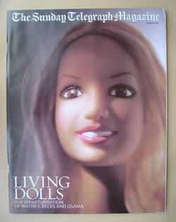 The Sunday Telegraph magazine - Living Dolls cover (26 May 2002)