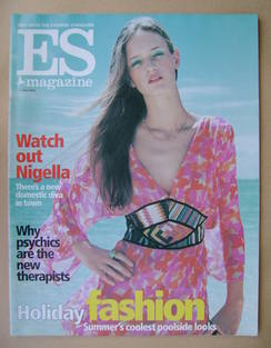 <!--2002-06-07-->Evening Standard magazine - Holiday Fashion cover (7 June