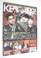 <!--2009-02-04-->Kerrang magazine - The King Blues cover (4 February 2009 - Issue 1247)