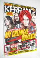 <!--2010-10-09-->Kerrang magazine - My Chemical Romance cover (9 October 2010 - Issue 1333)