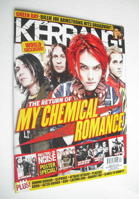 <!--2010-10-09-->Kerrang magazine - My Chemical Romance cover (9 October 20