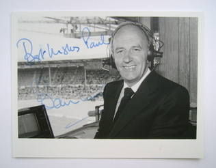 Brian Moore autograph (hand-signed photograph, dedicated)
