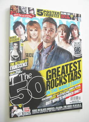 <!--2011-08-06-->Kerrang magazine - The 50 Greatest Rock Stars In The World