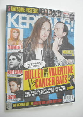 <!--2012-05-05-->Kerrang magazine - Bullet For My Valentine vs Cancer Bats