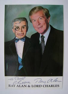 Ray Alan autograph