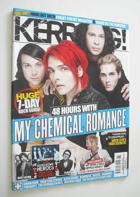 <!--2010-11-20-->Kerrang magazine - My Chemical Romance cover (20 November