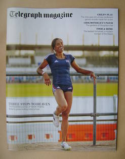 <!--2012-06-16-->Telegraph magazine - Yamile Aldama cover (16 June 2012)