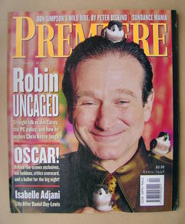 Premiere magazine - Robin Williams cover (April 1996)