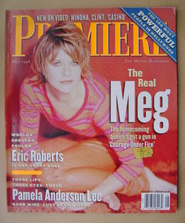 Premiere magazine - Meg Ryan cover (May 1996)