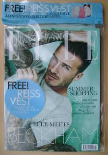 <!--2012-07-->British Elle magazine - July 2012 - David Beckham cover (Cove