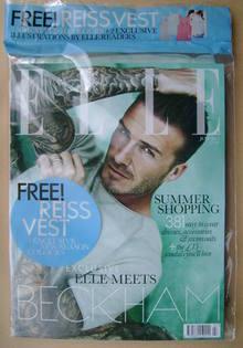 <!--2012-07-->British Elle magazine - July 2012 - David Beckham cover (Cove