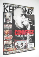 <!--2008-07-12-->Kerrang magazine - Converge cover (12 July 2008 - Issue 1218)