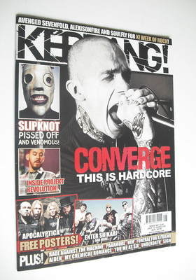 <!--2008-07-12-->Kerrang magazine - Converge cover (12 July 2008 - Issue 12