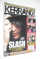 <!--2008-05-03-->Kerrang magazine - Slash cover (3 May 2008 - Issue 1208)