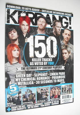 <!--2011-01-29-->Kerrang magazine - 120 Killer Tracks cover (29 January 201