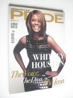 Pride magazine - Whitney Houston cover (March 2012)