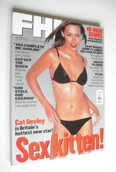 <!--1998-07-->FHM magazine - Cat Deeley cover (July 1998)
