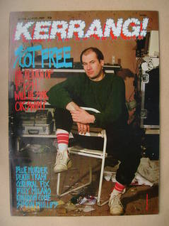 <!--1989-04-29-->Kerrang magazine - Fish cover (29 April 1989 - Issue 236)