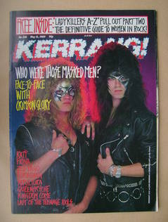 <!--1989-05-13-->Kerrang magazine - Midnight and Jon Drenning of Crimson Gl