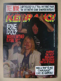 <!--1989-05-27-->Kerrang magazine - Derek Smalls and David St Hubbins of Sp